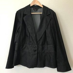 Torrid sz 2 Dark wash denim blazer